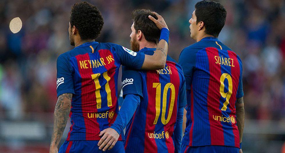 Neymar se fue del Barcelona en 2017 al PSG. (Getty)