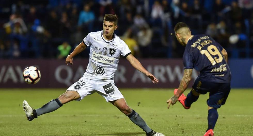 Sol de América cayó ante Botafogo en Asunción por la ida de los 16avos de Copa Sudamericana.