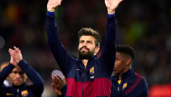 Piqué medita postular como presidente del FC Barcelona. (Foto: Getty)