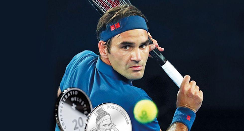 Roger Federer no se cansa de hacer historia. (Foto: Twitter de Christof Kaufmann)