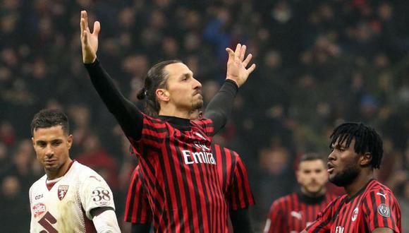 Zlatan Ibrahimovic se queda en AC Milán (Foto: EFE)