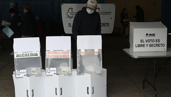 Este domingo 6 de junio se celebraron las Elecciones 2021 en México. (Foto: AFP)