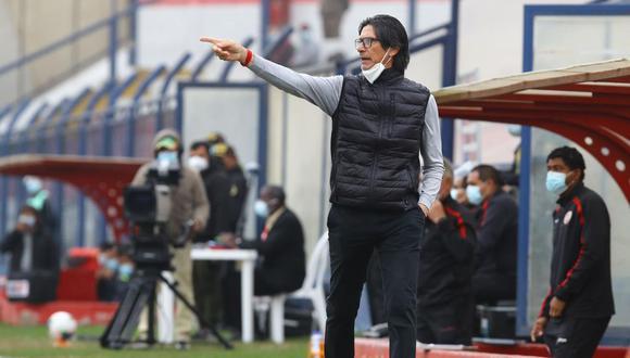 Ángel Comizzo cumple su tercera etapa como entrenador de Universitario desde el 2020. (Foto: Liga de Fútbol Profesional)