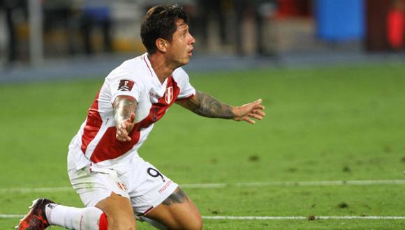 Gianluca Lapadula jugó 120 minutos con Perú en la segunda fecha de Eliminatorias. (Foto: FPF)