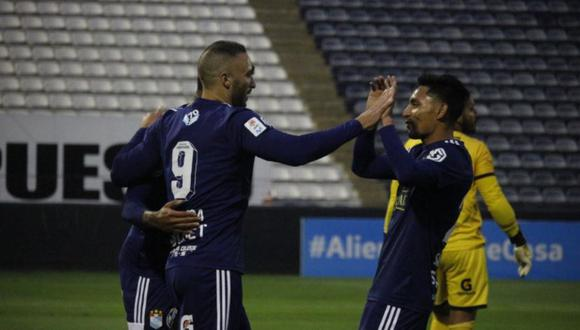 Sporting Cristal venció 5-3 a Binacional en duelo por el Torneo Apertura. (Foto: Liga 1)