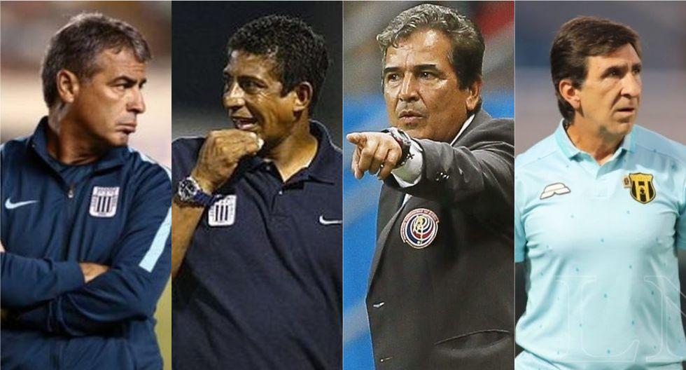 Los candidatos a asumir el puesto de Pablo Bengoechea en Alianza Lima. (Foto: Depor)