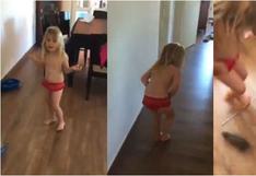 Tremendo susto: pensó que su hija jugaba con un conejito y pegó el grito al cielo con lo que descubrió [VIDEO]