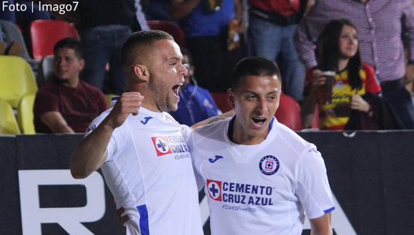 Cruz Azul venció 3-1 a Morelia en Morelos por fecha 8 del Clausura 2020 Liga MX. (Imago7)