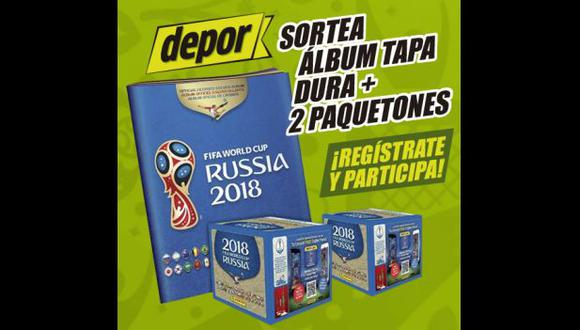 Depor sortea álbum Panini de tapa dura y dos paquetones (Foto: USI).