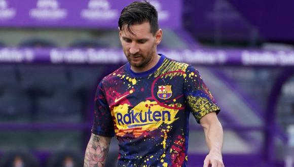 Lionel Messi fue el goleador de LaLiga Santander 2019-20, con 25 anotaciones. (Foto: AFP)