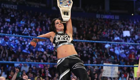 Ganó el cinturón femenino del show azul en octubre del año pasado. (Foto: WWE)