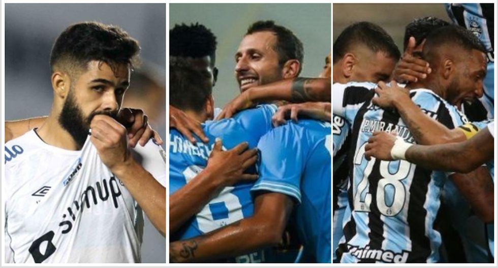 Los clasificados a octavos de final de la Copa Sudamericana 2021. (Foto: AFP)