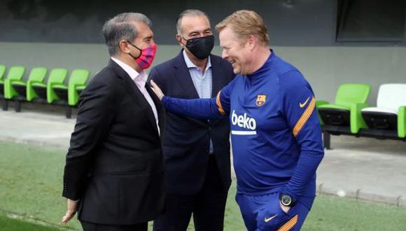 Joan Laporta atraviesa por su segundo mandato en el FC Barcelona. (Foto: Getty)