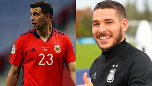 Dibu Martínez y Emiliano Buendía militan en el Aston Villa. (Foto: Agencias)