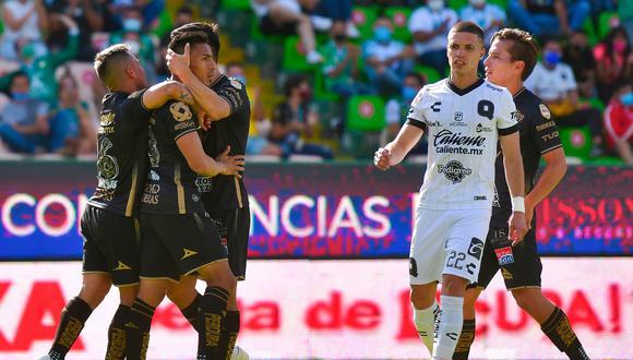León vs. Querétaro se vieron las caras este sábado por la jornada 17 de la Liga MX 2021 (Foto: @clubleonfc)