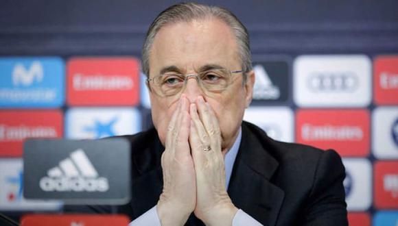 Florentino Pérez ha sido presidente del Real Madrid en dos periodos. (Internet)