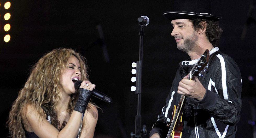 Shakira recuerda a Gustavo Cerati y le rinde emotivo homenaje en Instagram. (Foto: AFP)