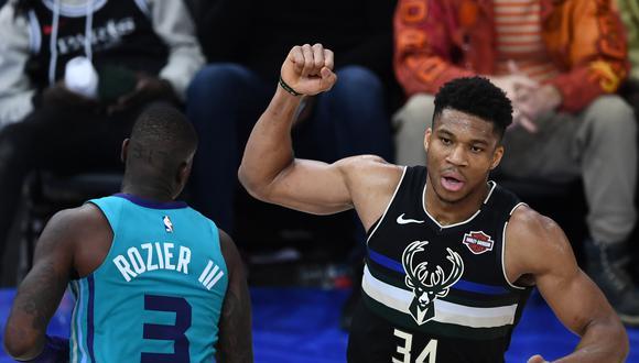 El equipo de Milwauke Bucks buscará asegurar su clasificación cuando enfrente a Miami Heat este jueves 27 de mayo en el American Airlines Arena. (Foto: AFP)