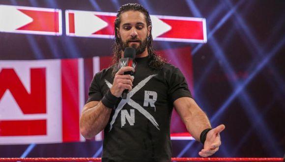 Seth Rollins enfrentará a Brock Lesnar en WrestleMania 35. (WWE)