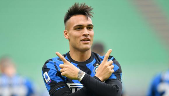 Lautaro Martínez anunció que se quedará en el Inter de Milán. (Foto: Reuters)