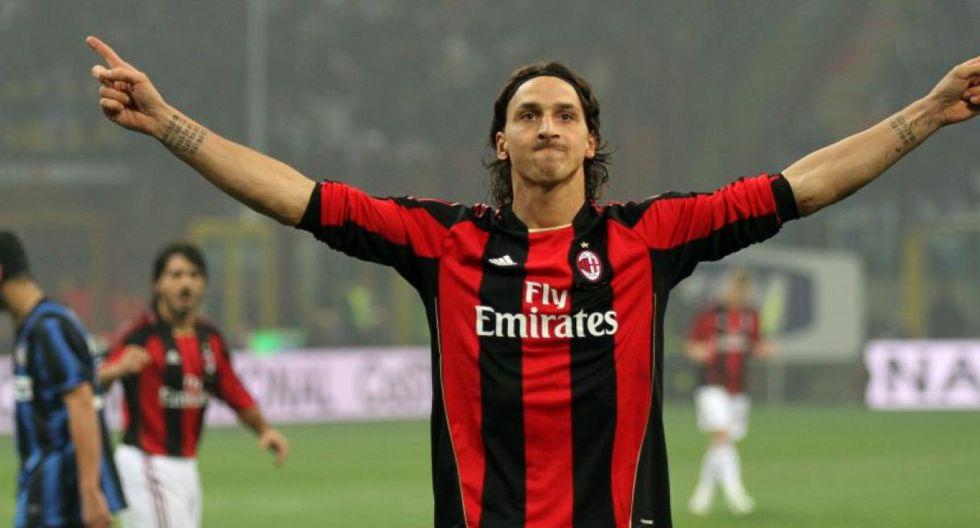 Zlatan Ibrahimovic fichó por Juventus y más adelante por AC Milan (Foto: AP)