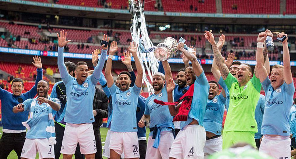 Manchester City se coronó campeón de la último edición de la FA Cup tras vencer al Watford en la final. (Foto: Getty Images)