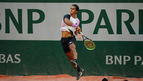 Juan Pablo Varillas debutó con victoria en el Challenger de Ambato en Ecuador. (FFT)