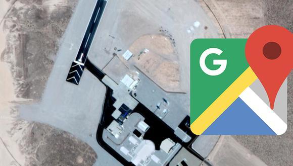 Esto es lo que le ocurrirá a tu pantalla de computadora si buscas el Área 51 en Google Maps. (Foto: Google)