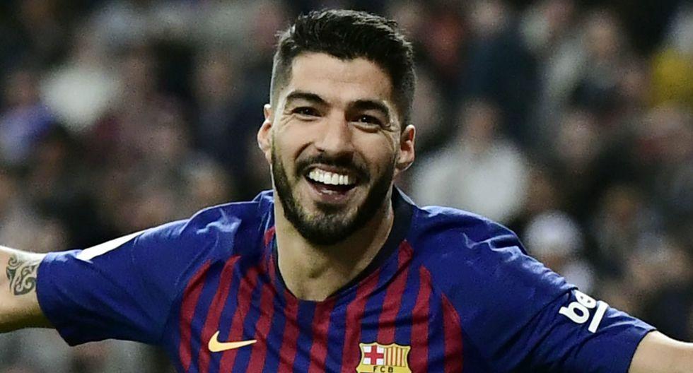 19. Luis Suárez - Barcelona - 19 goles (Getty)