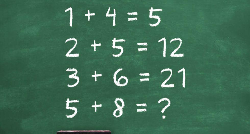 FOTO 1 DE 3 | Miles de personas han sufrido más de la cuenta para poder resolver este problema matemático. | Crédito: Composición. (Desliza hacia a la izquierda para ver más fotos)