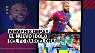 ¡Atención con el león! Memphis Depay volvió a ser el mejor del FC Barcelona