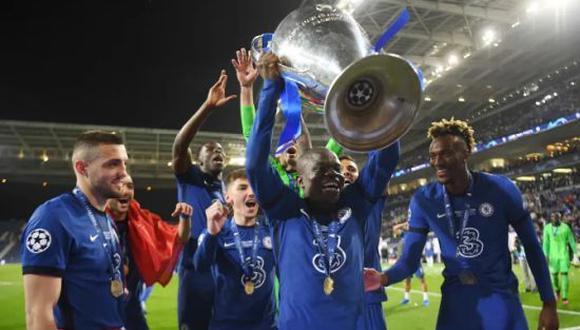 N'Golo Kanté terminará contrato con el Chelsea en verano del 2023. (Foto: Getty)