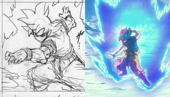 Dragon Ball Super: fanáticos del manga se burlan de la nueva postura de Goku en la batalla final contra Moro.