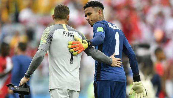 "Pedro Gallese: ""Que Ricardo Gareca se quede para que nos lleve otra vez al Mundial"". (AFP/AP)"