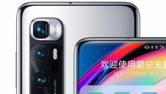Xiaomi lanza el Mi 10 Ultra y este es el precio del smartphone con 4 cámaras y pantalla curva. (Foto: Xiaomi)