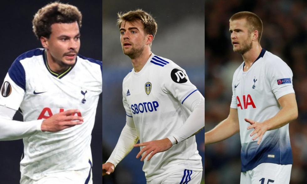 Alli, Bamford y Dier serán los principales ausencias de Inglaterra para la Euro 2021.
