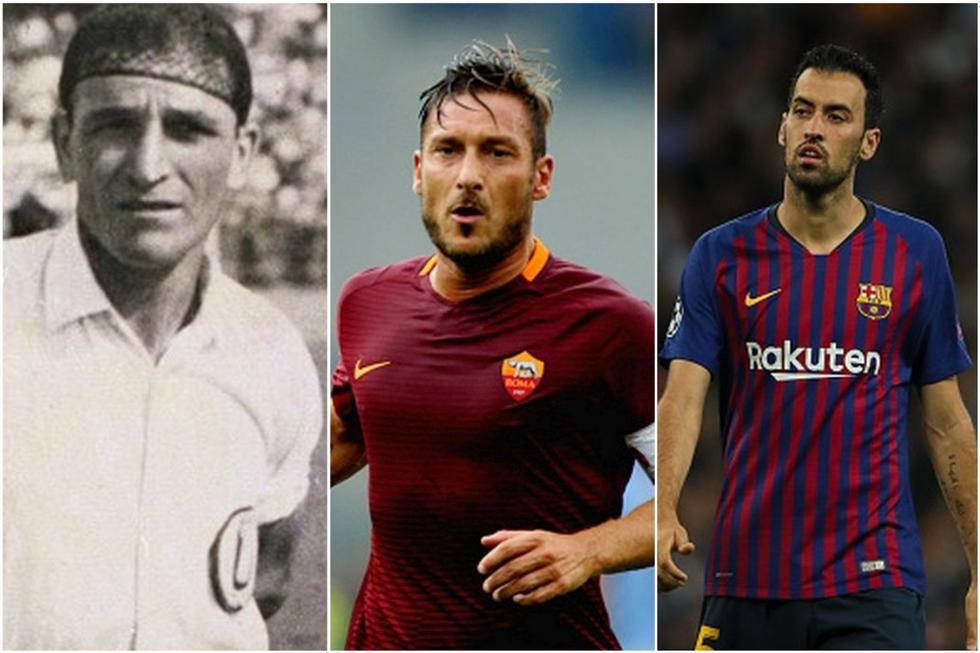 Los futbolistas con un solo club en sus carreras.