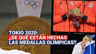 Tokio 2020: ¿De qué están hechas realmente las medallas de los Juegos Olímpicos?