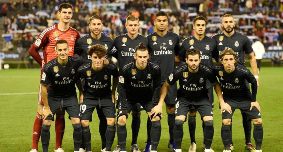Real Madrid viene de vencer al Celta en condición de visitante. (Foto: Reuters)