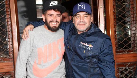 Hijo de Diego Maradona lo despide desde sus redes sociales (Foto: instagram)