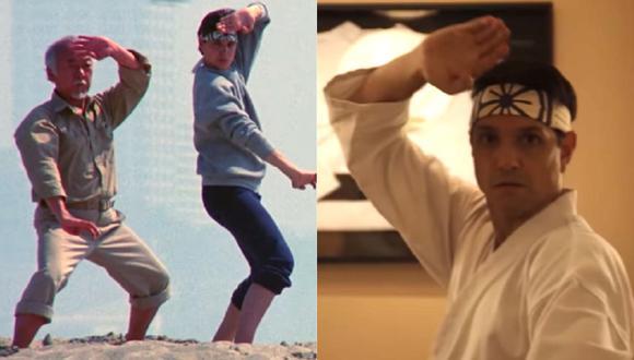 """Conoce algunas similitudes de la serie """"Cobra Kai""""y la película """"Karate Kid"""". (Foto: Captura Netflix)"""