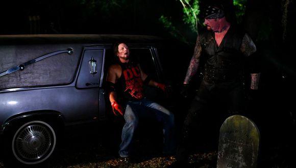Kurt Angle sugirió la pelea entre The Undertaker y AJ Styles. (Foto: WWE)