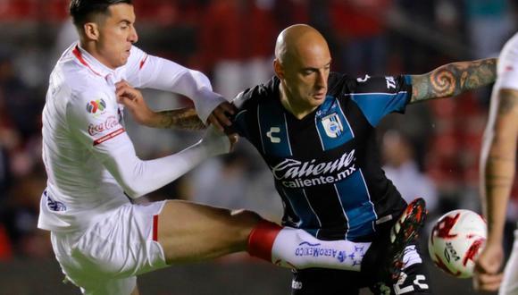 Querétaro no pudo con Toluca en La Corregidora y empataron a uno por Clausura 2020 Liga MX. (Twitter)