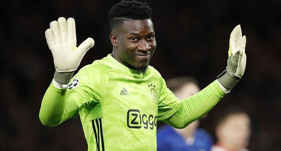 André Onana solo ha jugado de manera profesional en el Ajax. (Getty Images)