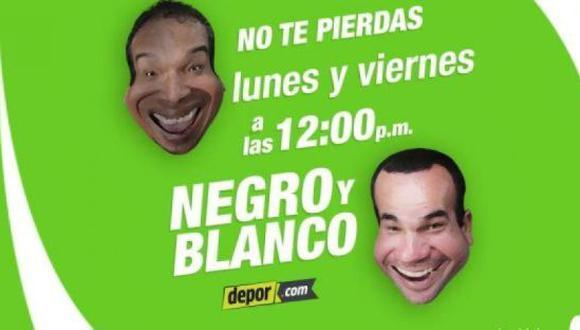 Negro y Blanco vuelven este lunes a través del Facebook Live de Depor.