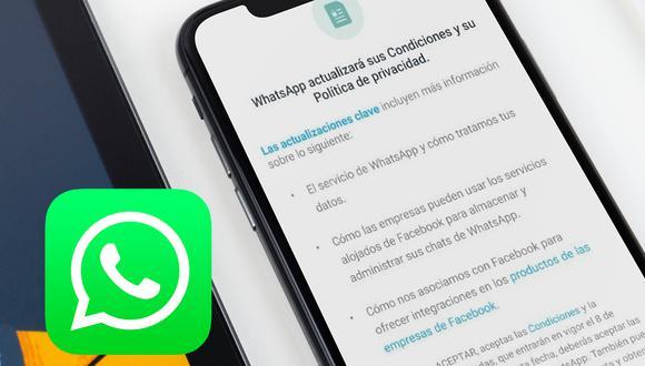 Conoce todos los detalles de las nuevas políticas y condiciones de uso de WhatsApp. (Foto: Depor)