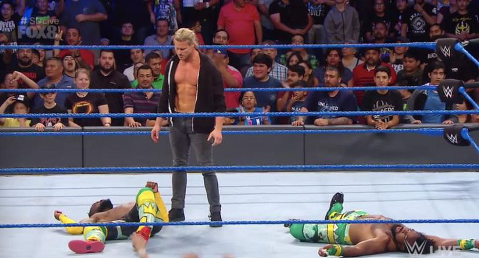 Dolph Ziggler atacó a Kofi Kingston y Xavier Woods. (WWE)