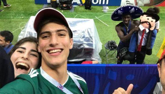 El trueque de un mexicano con Benjamin Mendy. (Foto: Redes sociales)