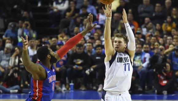 Luka Doncic, de Eslovenia, brilla en el Dallas Mavericks. (Foto: AFP)