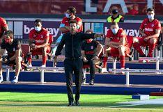 Diego Simeone se convirtió en el entrenador con más triunfos en la historia del Atlético de Madrid